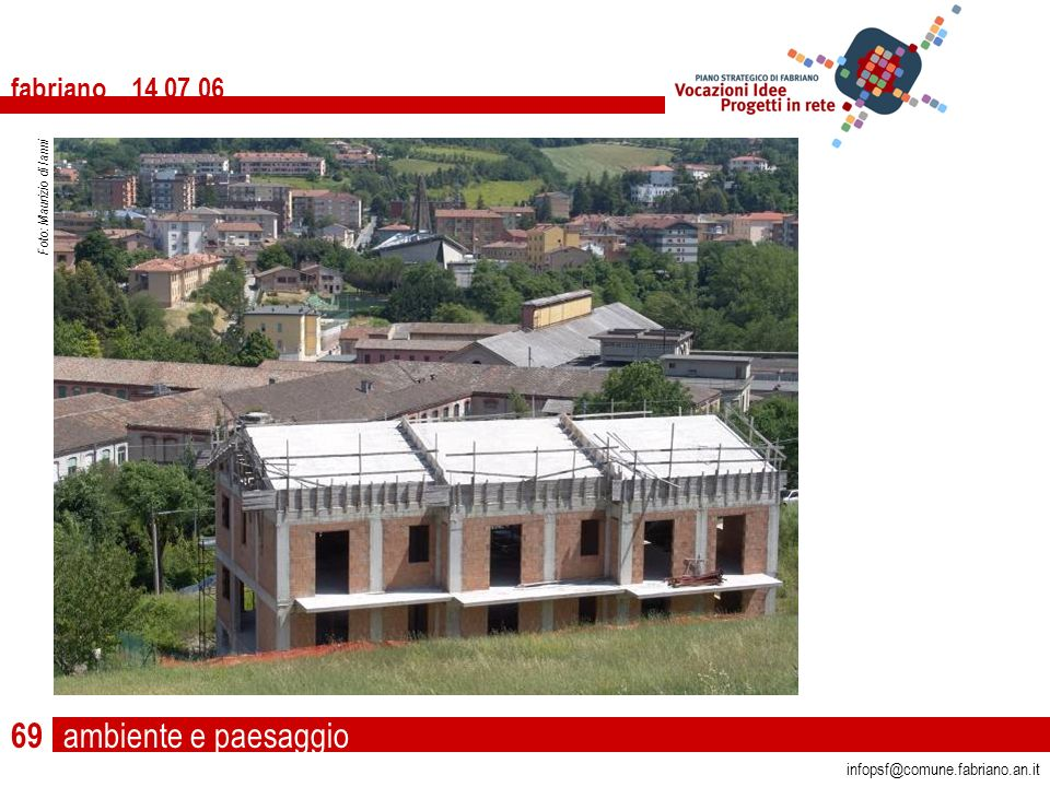 ambiente e paesaggio fabriano 14 07 06 infopsf@comune.fabriano.an.it Foto: Maurizio di Ianni 69