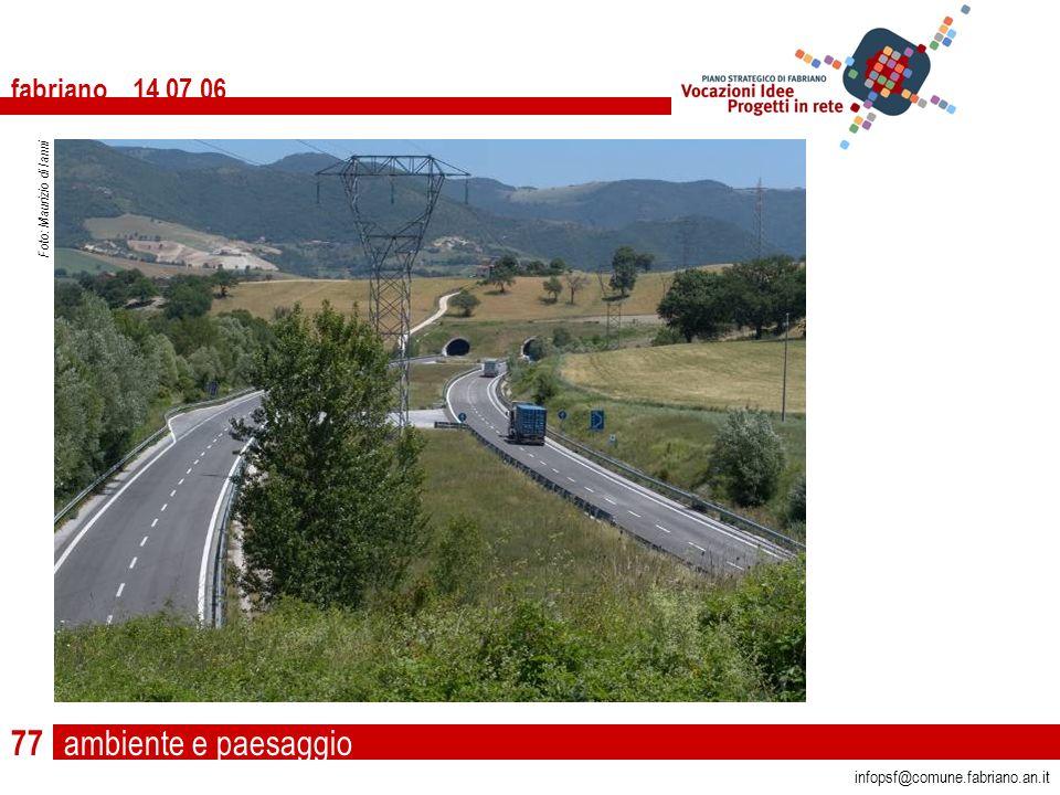 ambiente e paesaggio fabriano 14 07 06 infopsf@comune.fabriano.an.it Foto: Maurizio di Ianni 77