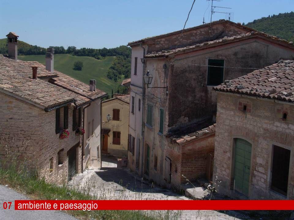 07 infopsf@comune.fabriano.an.it ambiente e paesaggio