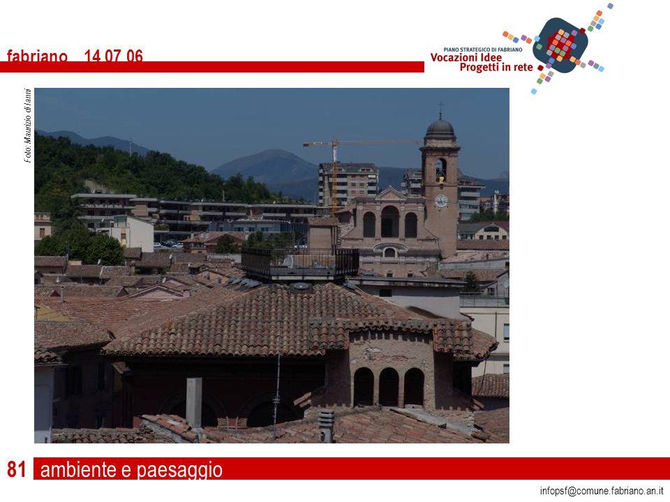ambiente e paesaggio fabriano 14 07 06 infopsf@comune.fabriano.an.it Foto: Maurizio di Ianni 81