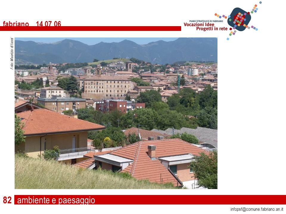 ambiente e paesaggio fabriano 14 07 06 infopsf@comune.fabriano.an.it Foto: Maurizio di Ianni 82