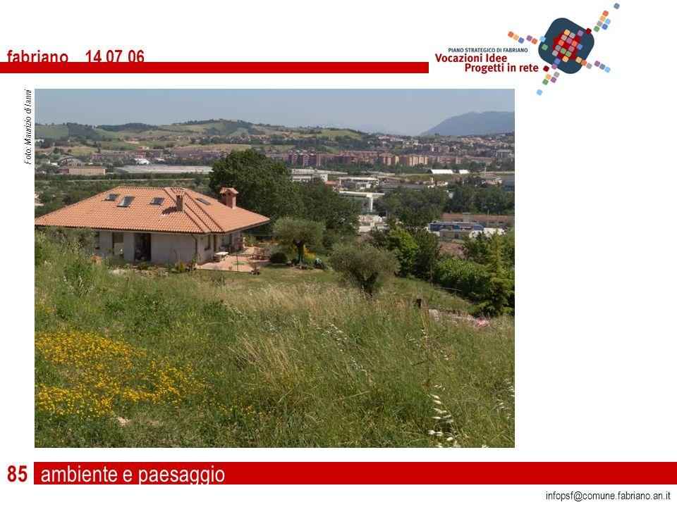 ambiente e paesaggio fabriano 14 07 06 infopsf@comune.fabriano.an.it Foto: Maurizio di Ianni 85