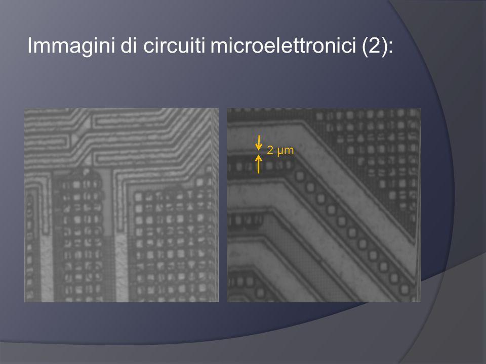 Immagini di circuiti microelettronici (2): 2 μm