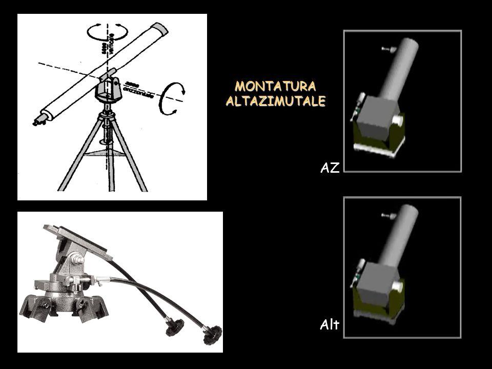 MONTATURA ALTAZIMUTALE AZ Alt