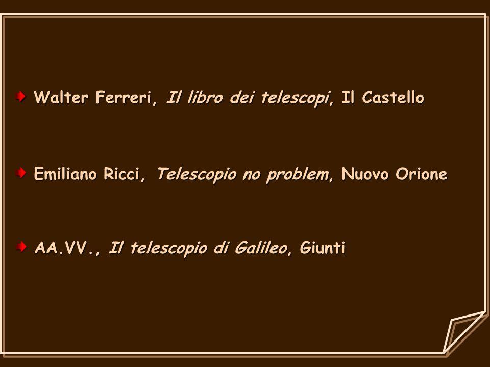 Walter Ferreri, Il libro dei telescopi, Il Castello Walter Ferreri, Il libro dei telescopi, Il Castello Emiliano Ricci, Telescopio no problem, Nuovo O