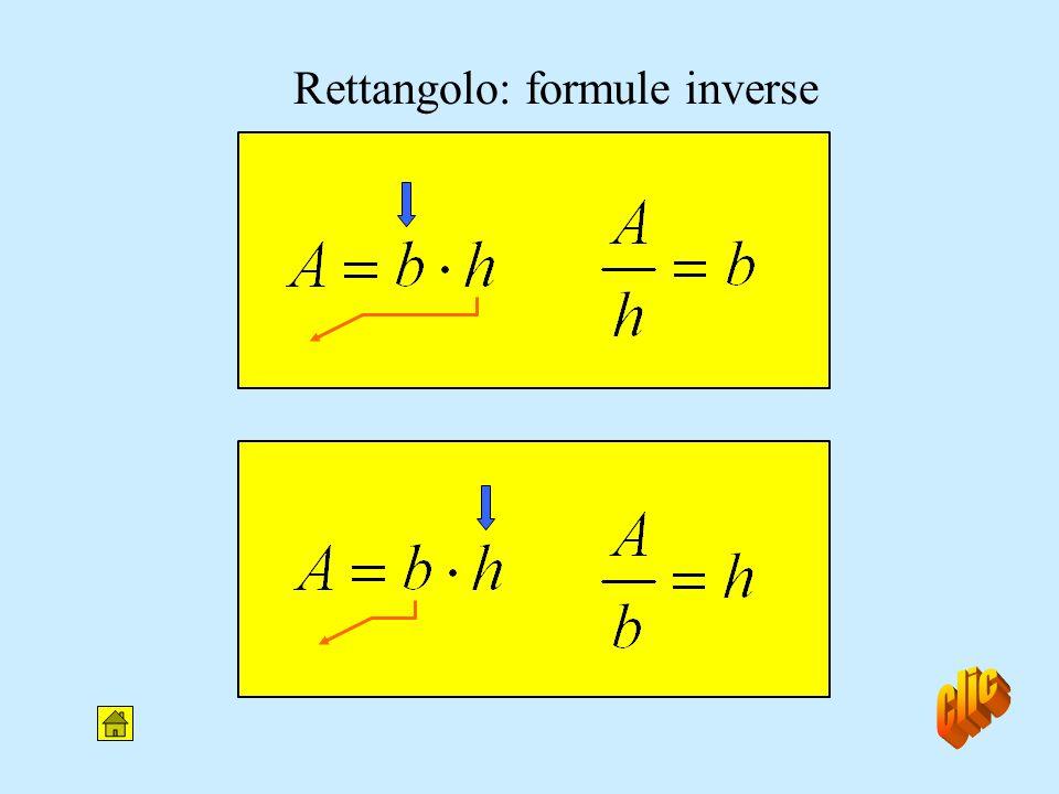 Area del rettangolo b h