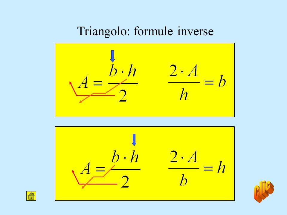 Area del triangolo b h