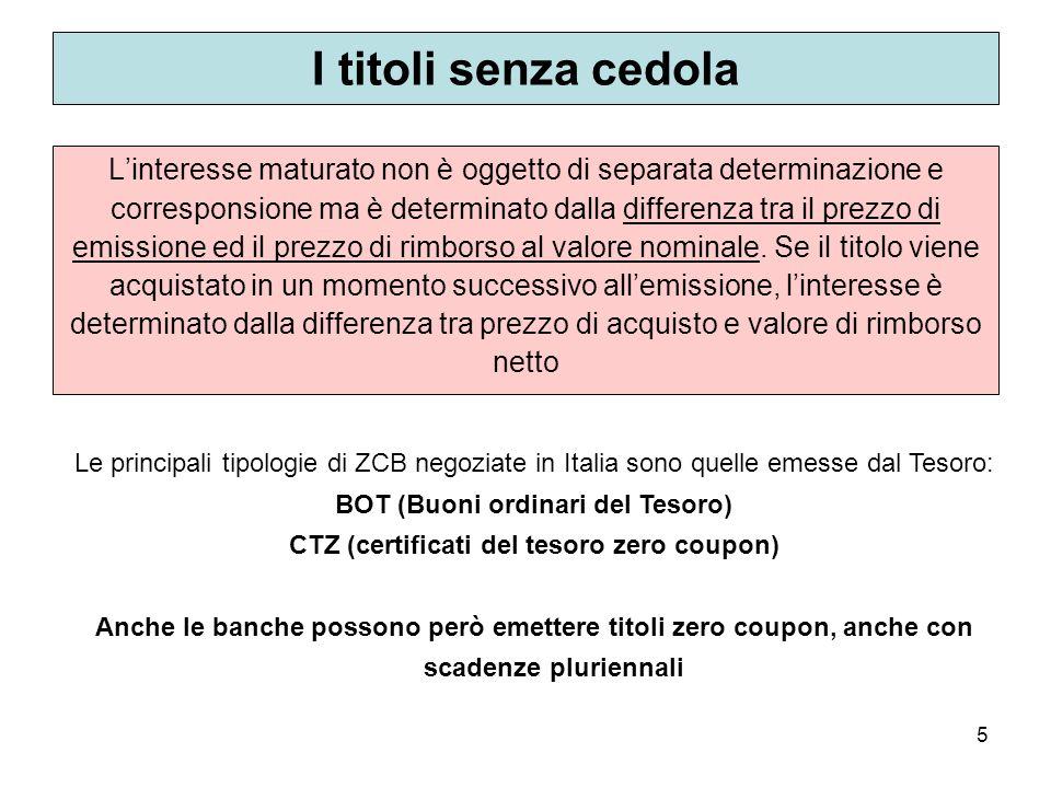 76 Le obbligazioni convertibili Non sono in realtà titoli a reddito fisso in base allo schema che abbiamo presentato..