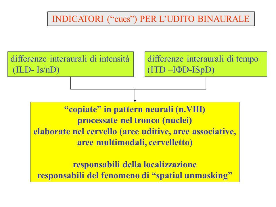 audiologia ferrara ricerche 2003-2010 PERCEZIONE DEL PARLATO NEL RUMORE interazioni fra processamento di una protesi acustica ed udito binaurale 1.