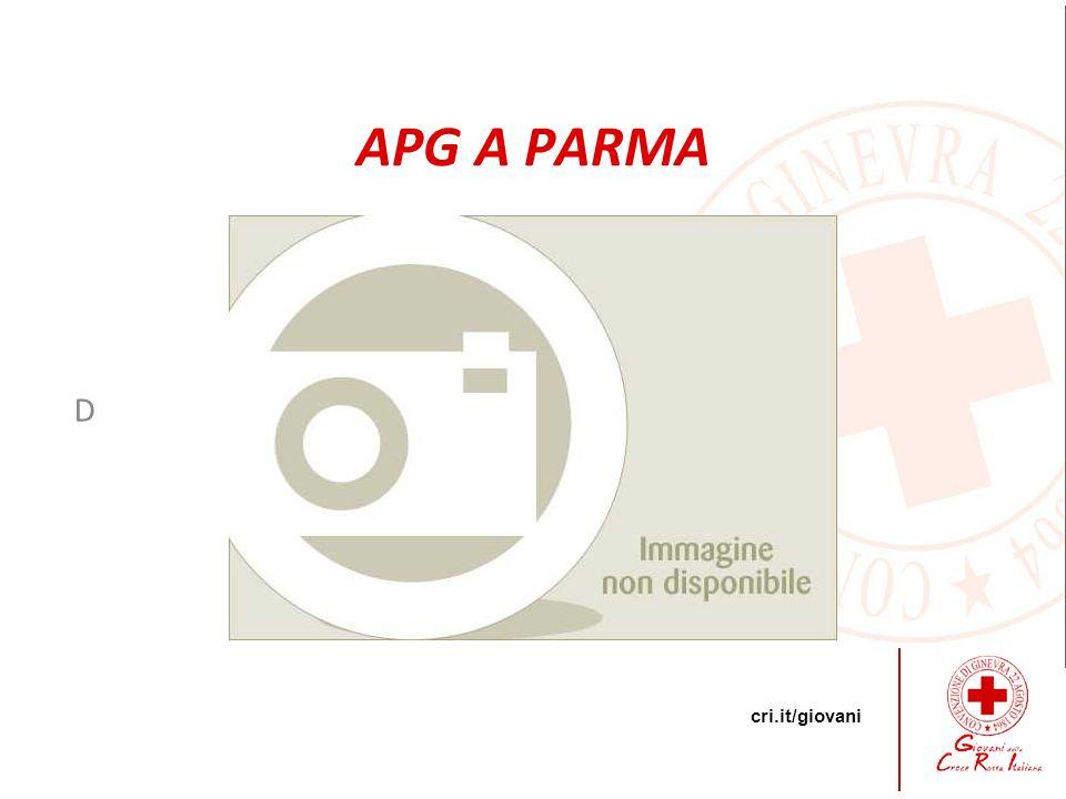 cri.it/giovani D APG A PARMA