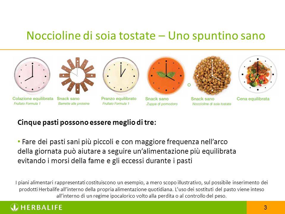3 Noccioline di soia tostate – Uno spuntino sano Cinque pasti possono essere meglio di tre: Fare dei pasti sani più piccoli e con maggiore frequenza n