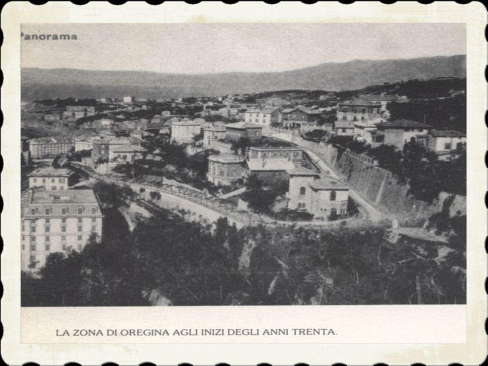 2)Nel 500 avvenne il primo fatto importante, con la costruzione di una diga in fondo alla valletta che si trova tra le colline di Granarolo e Oregina.