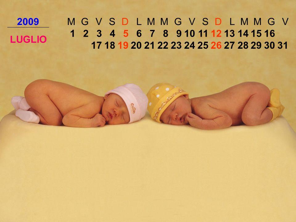 2009MGVSDLMMGVSDLMMGV LUGLIO 12345678910111213141516 171819202122232425262728293031