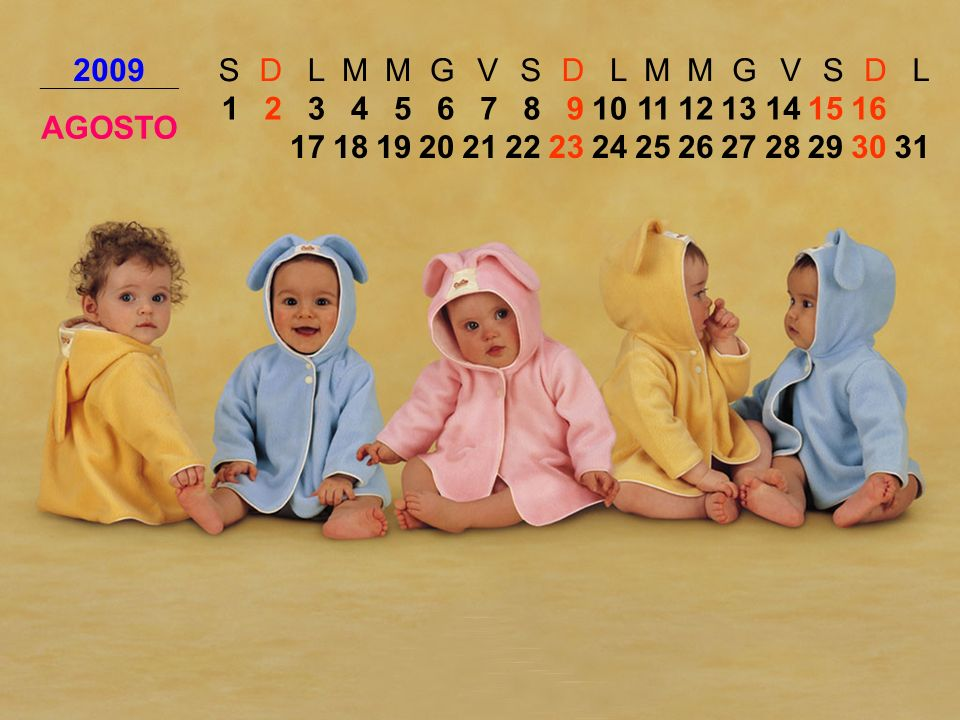 2009SDLMMGVSDLMMGVSDL AGOSTO 12345678910111213141516 171819202122232425262728293031