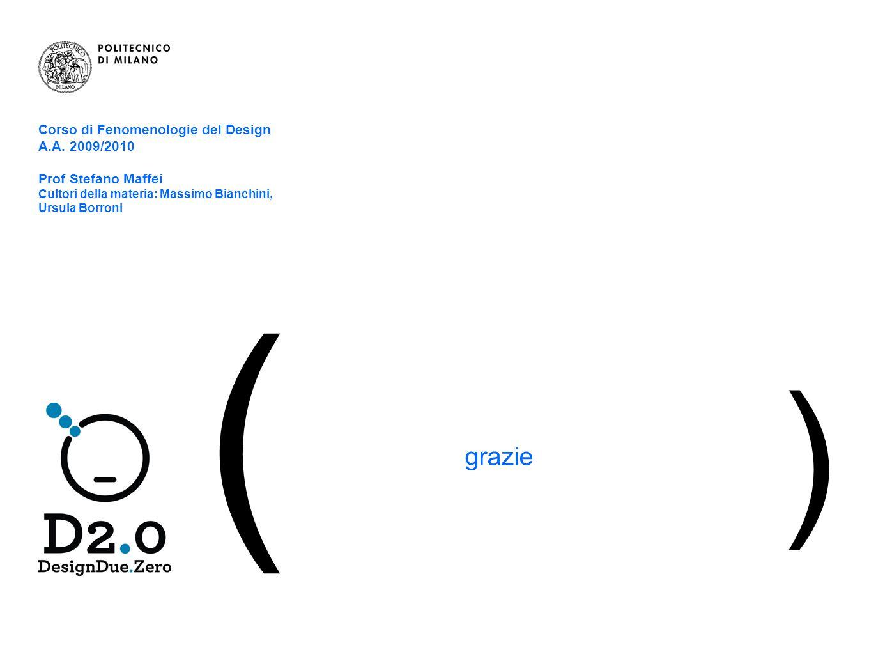 15 | Il blog – istruzioni per luso ( grazie ) Corso di Fenomenologie del Design A.A.
