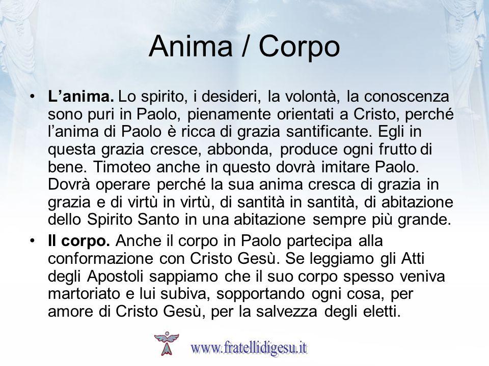 Anima / Corpo Lanima.