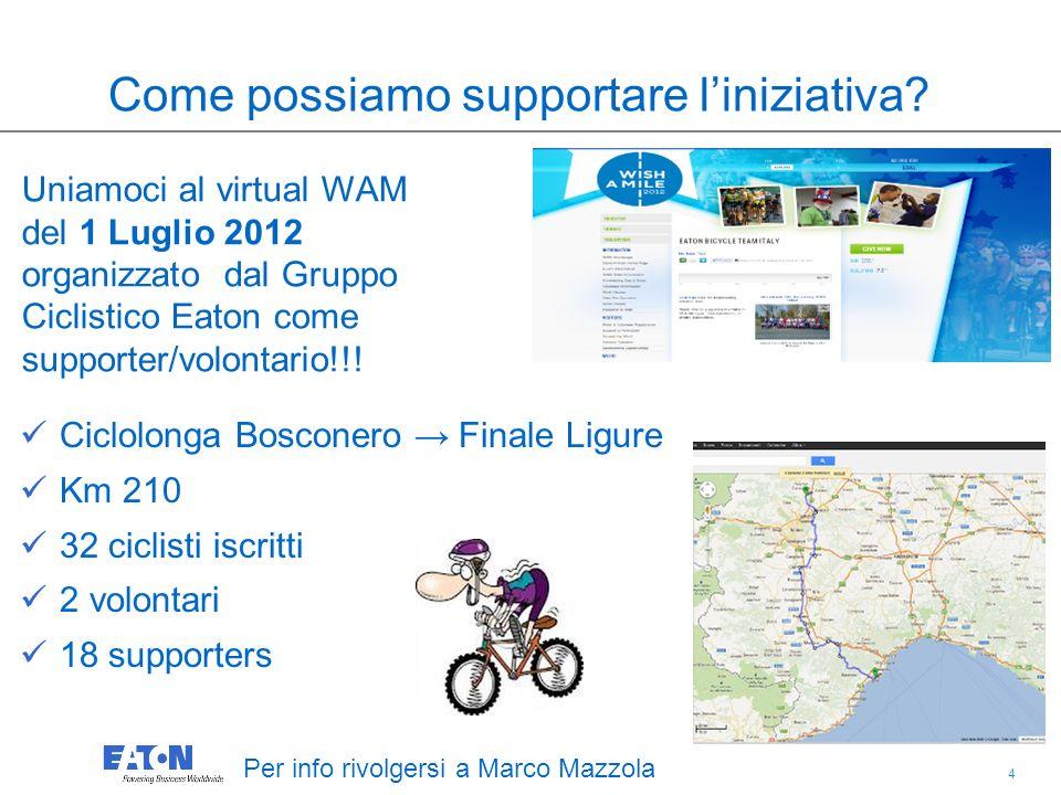 4 4 Ciclolonga Bosconero Finale Ligure Km 210 32 ciclisti iscritti 2 volontari 18 supporters Per info rivolgersi a Marco Mazzola Come possiamo supportare liniziativa.