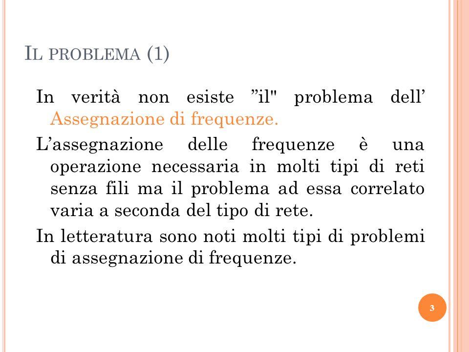 I L PROBLEMA (1) In verità non esiste il