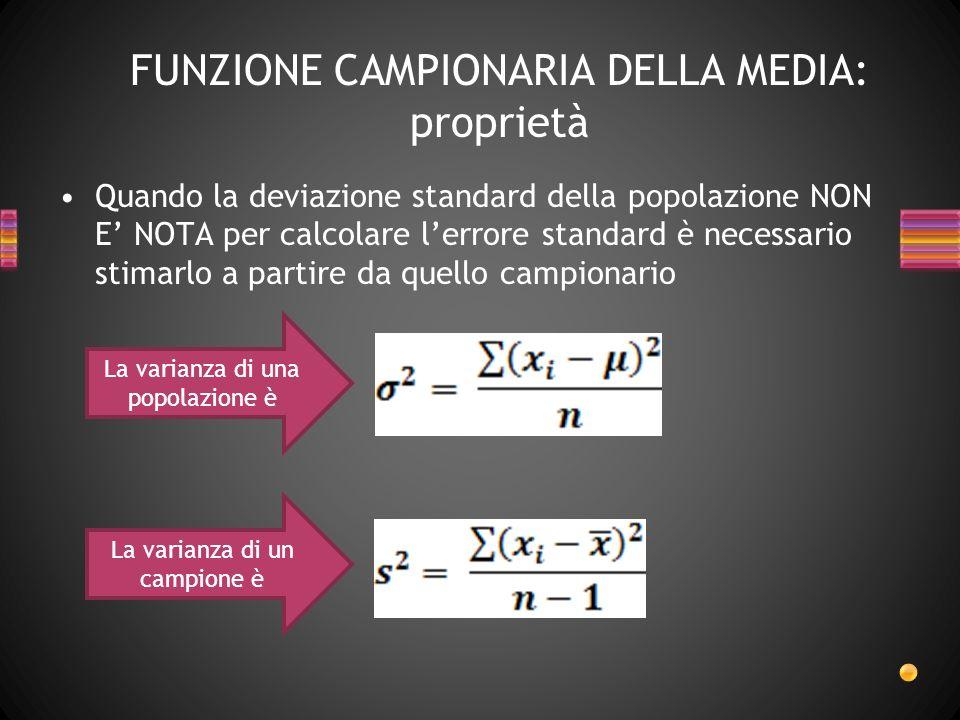 Se n>30, anche se la variabile è su scala nominale/dicotomica, la distribuzione si approssima alla normale ed usiamo i PUNTI Z La classica procedura di standardizzazione implica Se il campione è numeroso….