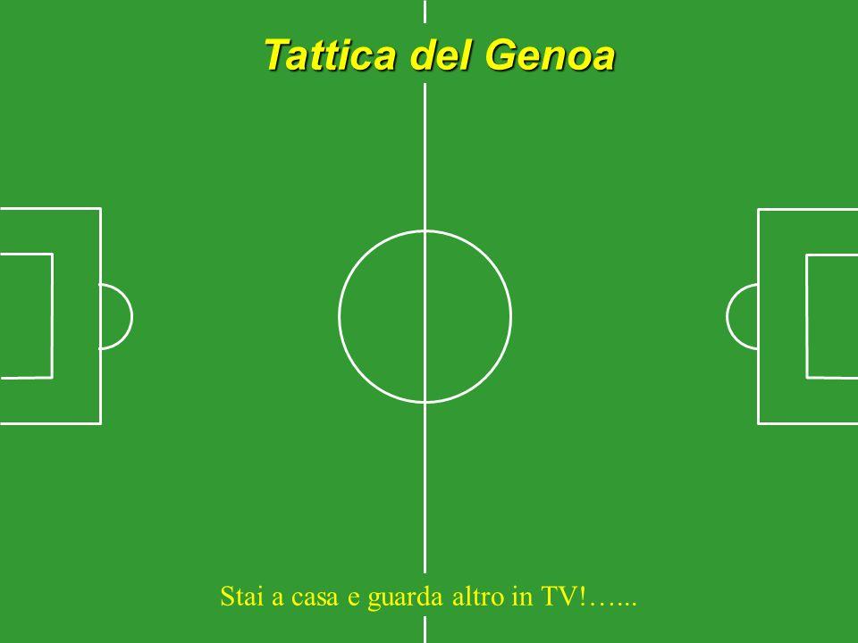 Tattica del Genoa Stai a casa e guarda altro in TV!…...