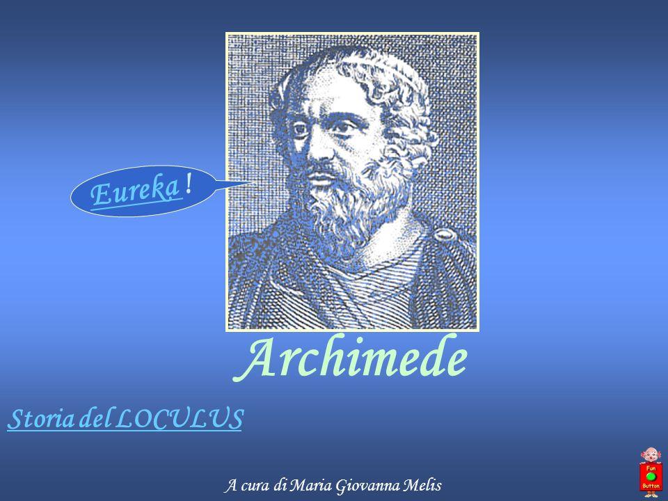 Biografia Archimede Archimede (Siracusa 287-212 a.C.), matematico e fisico greco, fu uno dei più grandi studiosi di matematica dell antichità.