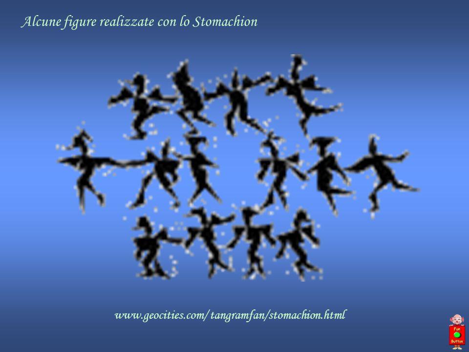 www.geocities.com/ tangramfan/stomachion.html Alcune figure realizzate con lo Stomachion