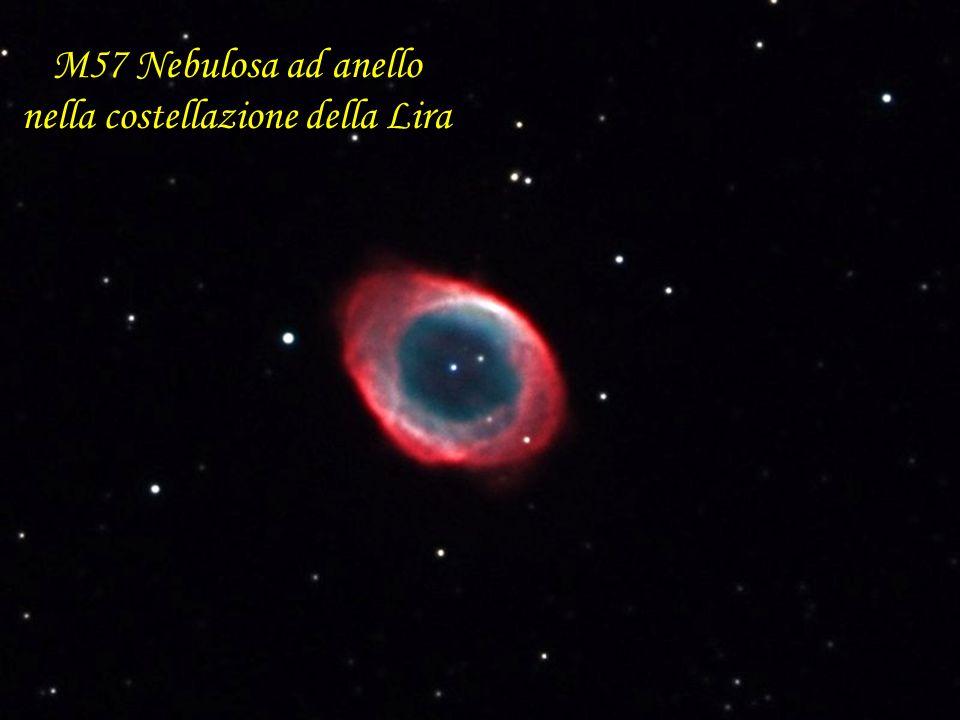 M57 Nebulosa ad anello nella costellazione della Lira