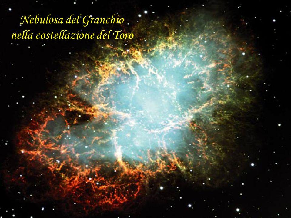 Nebulosa del Granchio nella costellazione del Toro