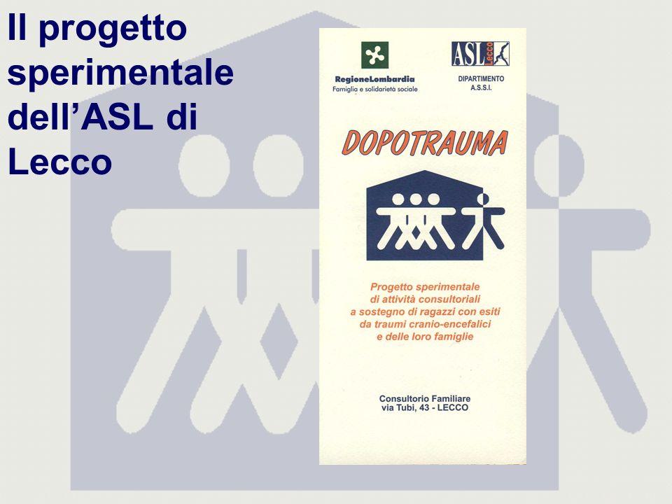 Il progetto sperimentale dellASL di Lecco