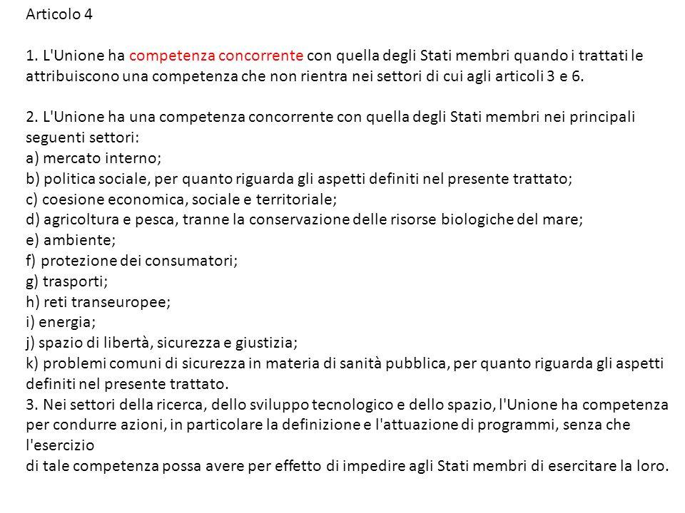 Articolo 4 1.