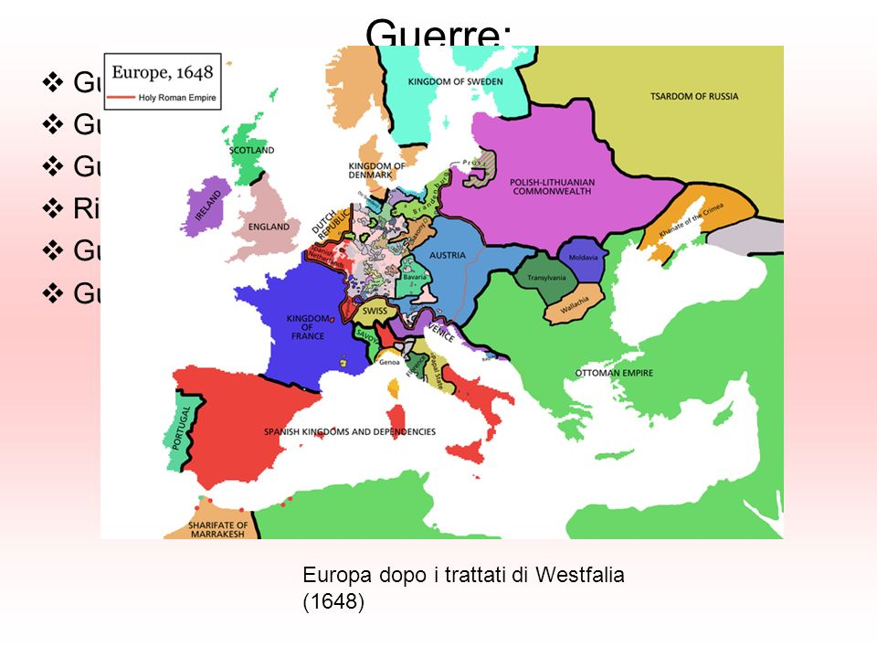 Guerra Anglo-Olandese (1665-66) Intervento a favore dellOlanda Paura di inimicarsi lInghilterra