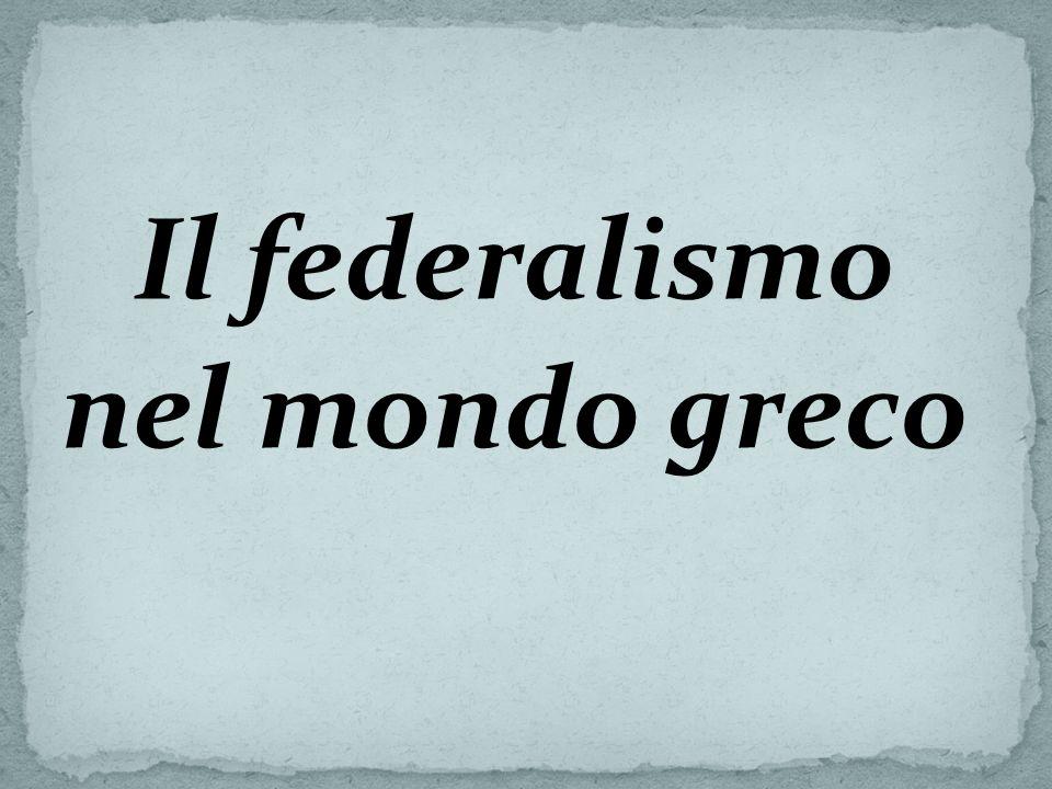 Le dottrine federaliste tra Ottocento e Novecento