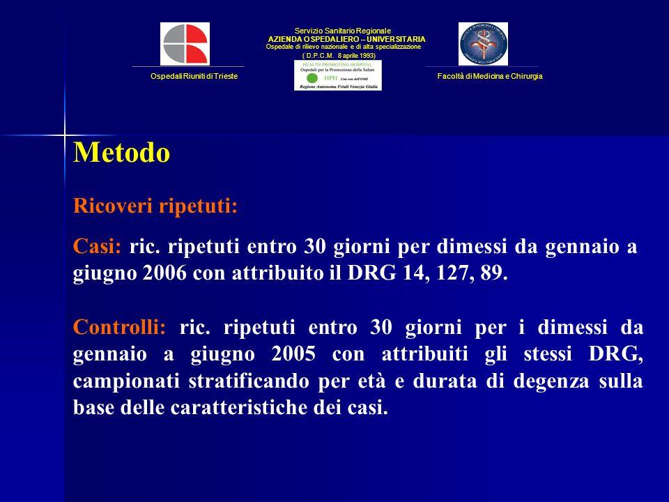 Servizio Sanitario Regionale AZIENDA OSPEDALIERO – UNIVERSITARIA Ospedale di rilievo nazionale e di alta specializzazione ( D.P.C.M.