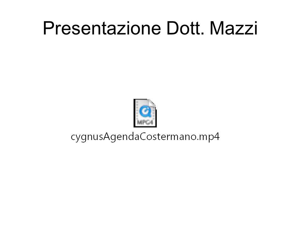 Presentazione Dott. Mazzi