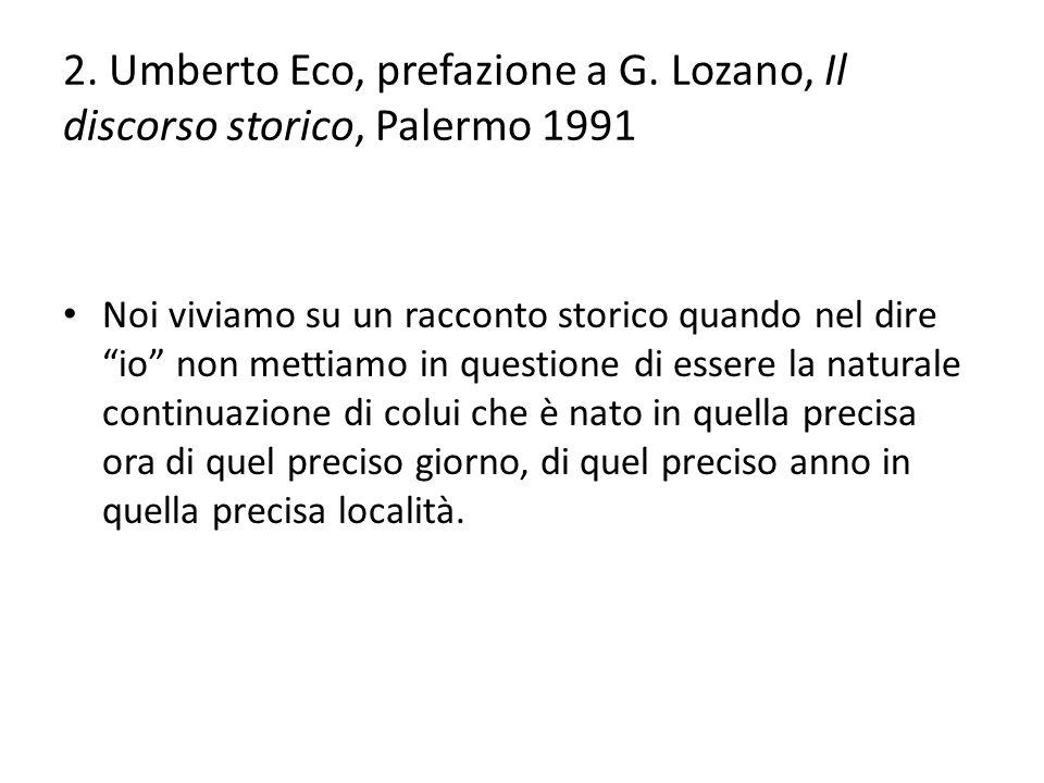 2.Umberto Eco, prefazione a G.