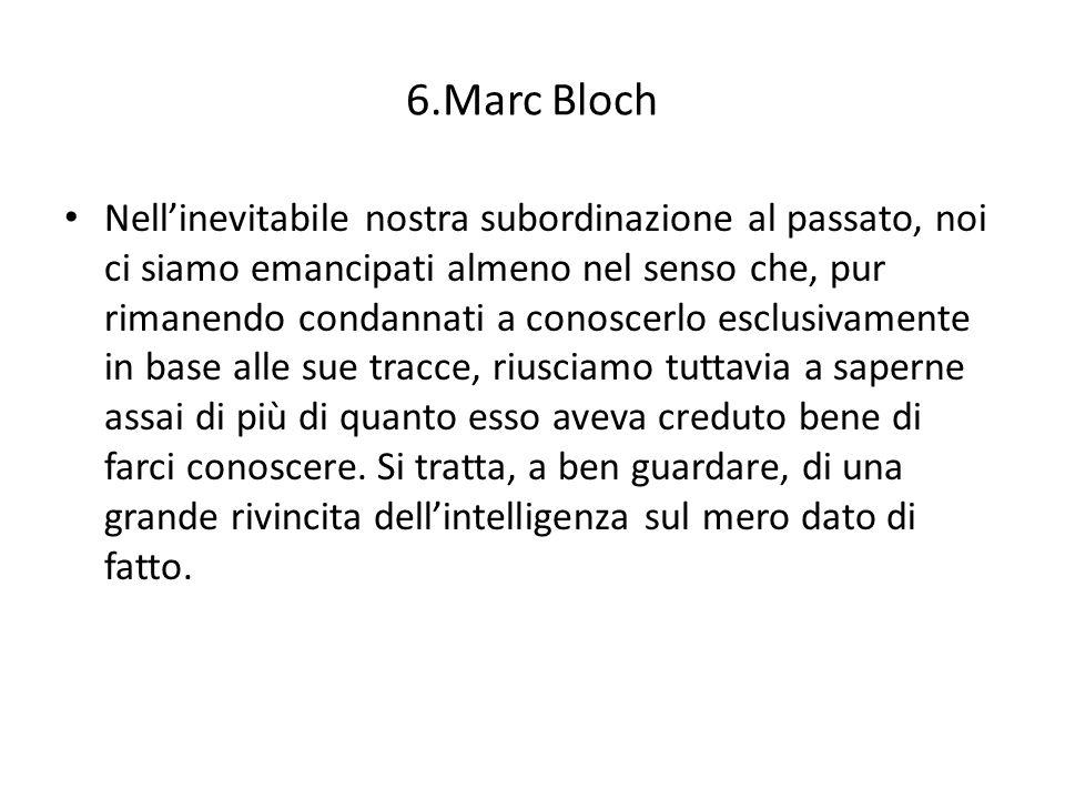 Marc Bloch Parecchie persone, e anche – a quanto pare – alcuni autori di manuali, si fanno unidea sorprendentemente ingenua del modo di procedere del nostro lavoro.