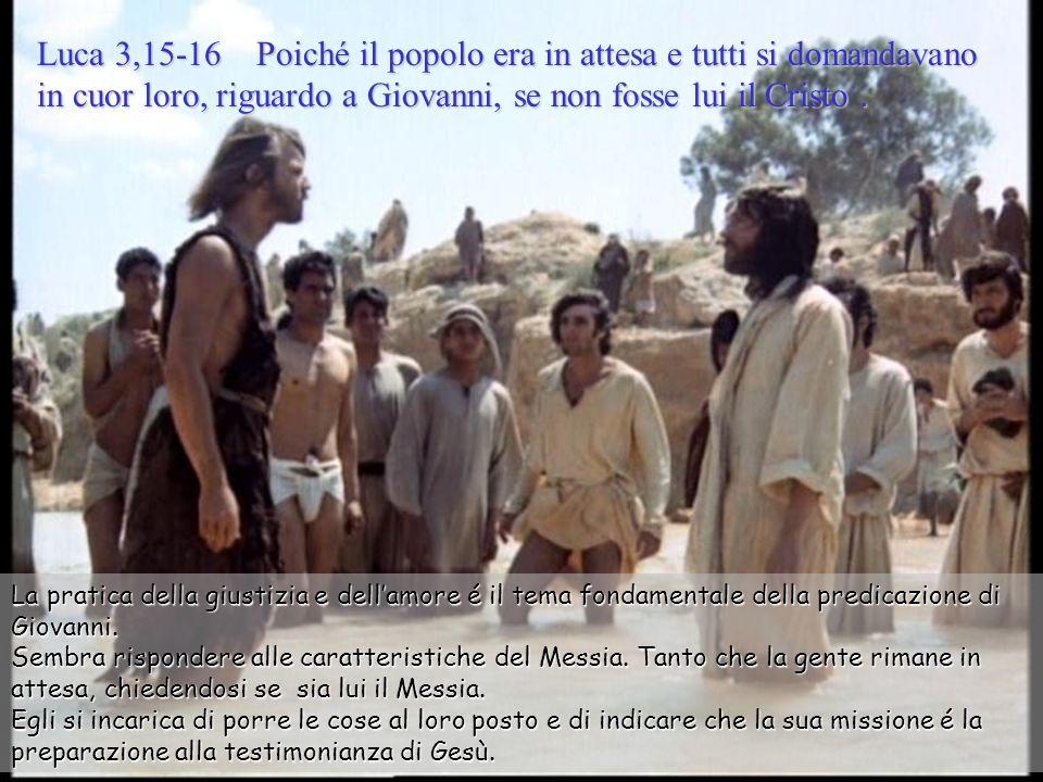 Battesimo di Gesù –C- Luca 3,15-16.21-22 - 13 gennaio 2013. Musica: Concerto per clarino K 622 (Mozart) Il senso, la speranza, la vita intera della pe