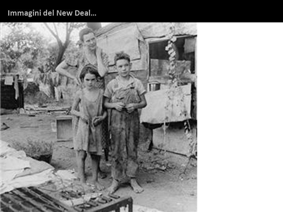 Immagini del New Deal…