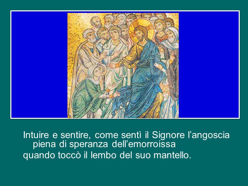 Quando siamo in questa relazione con Dio e con il suo Popolo e la grazia passa attraverso di noi, allora siamo sacerdoti, mediatori tra Dio e gli uomi