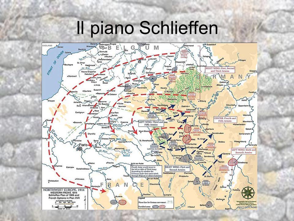 Il piano Schlieffen