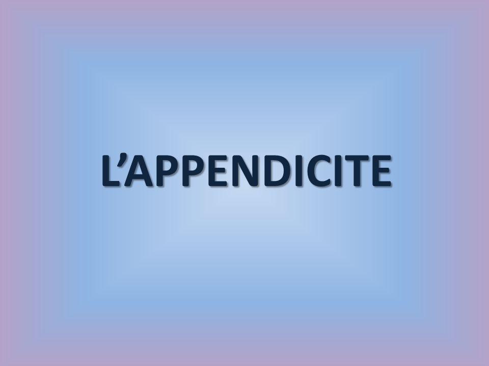 LAPPENDICITE