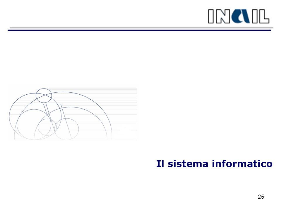 Il sistema informatico 25