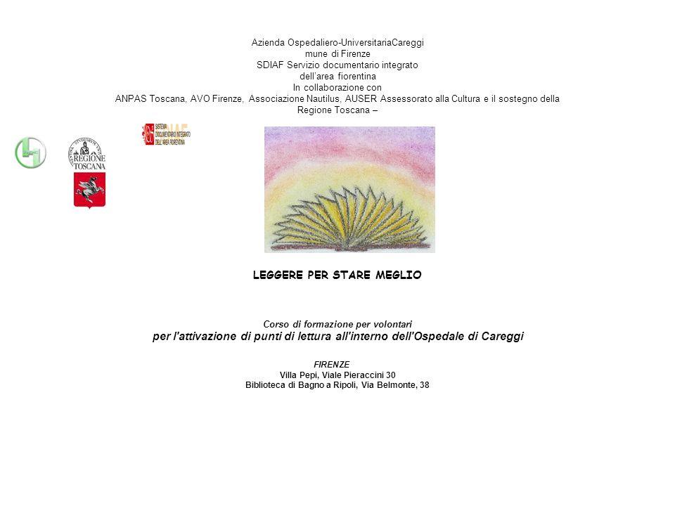 DIRETTORI DEI REPARTI COINVOLTIDIRETTORI DEI REPARTI COINVOLTI Azienda Careggi G.