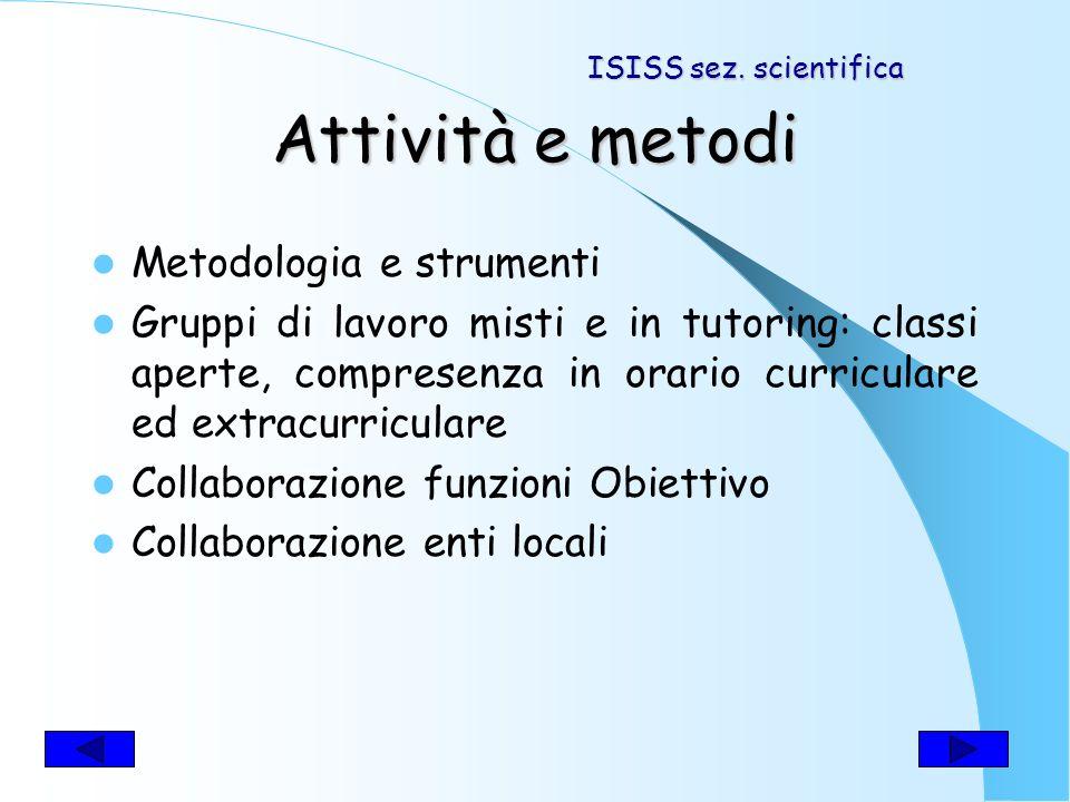 Discipline coinvolte Italiano Latino Storia Educazione Civica. ISISS sez. scientifica