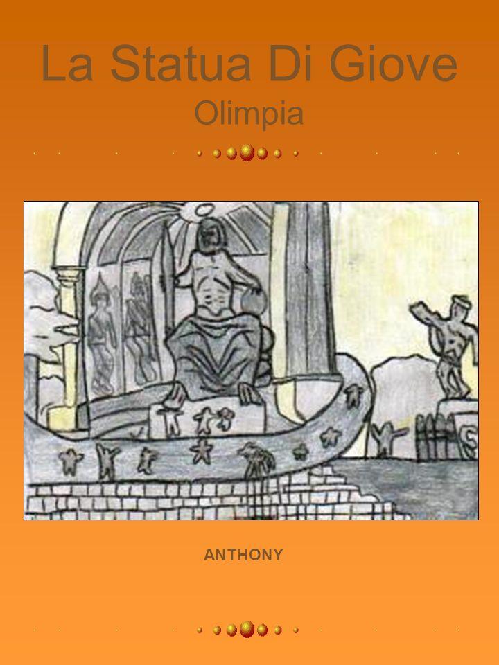 La Statua Di Giove Olimpia ANTHONY