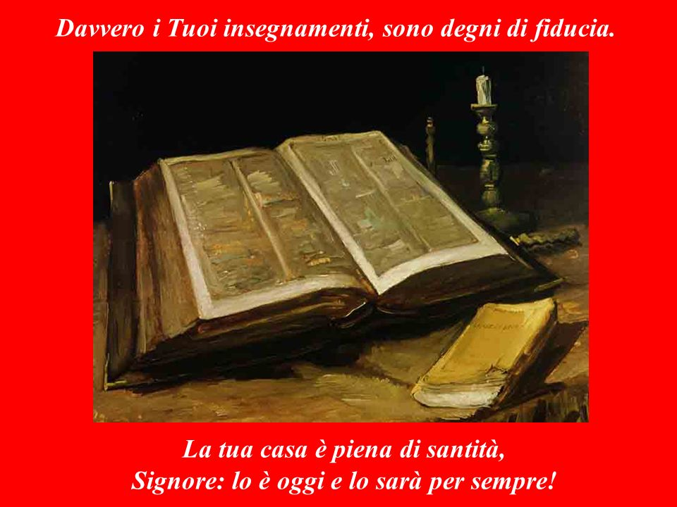 SALMO RESPONSORIALE (Salmo 92,1-2.5) Il Signore REGNA: avvolto di splendore.