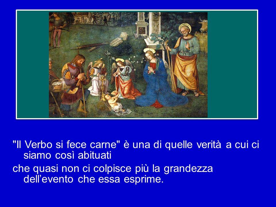 SantIreneo afferma: «Questo è il motivo per cui il Verbo si è fatto uomo, e il Figlio di Dio, Figlio delluomo: perché luomo, entrando in comunione con