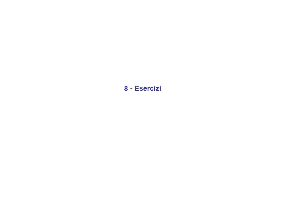Essendo la Nana Bianca neutra, vi sarà una densità numerica di ioni n + pari a: n + = n e / Z (dove Z = numero atomico) La densità di materia in questo gas sarà quindi data da: = A m p n + + m e n e A m p n + (dove A = peso atomico) (trascurabile) da queste due formule si ricava: n e = (Z ) / ( A m p ) P e = 0.0485 (h 2 /m e ) (Z / A) 5/3 ( / m p ) 5/3 Esercizio 1: Data una sfera di massa M e raggio R, adottando per la stima della pressione centrale P c dovuta alla stessa gravità della sfera la relazione semplice P c G M 2 / R 4, ricavate la relazione massa-raggio determinata dalla pressione degenere di un gas di elettroni.