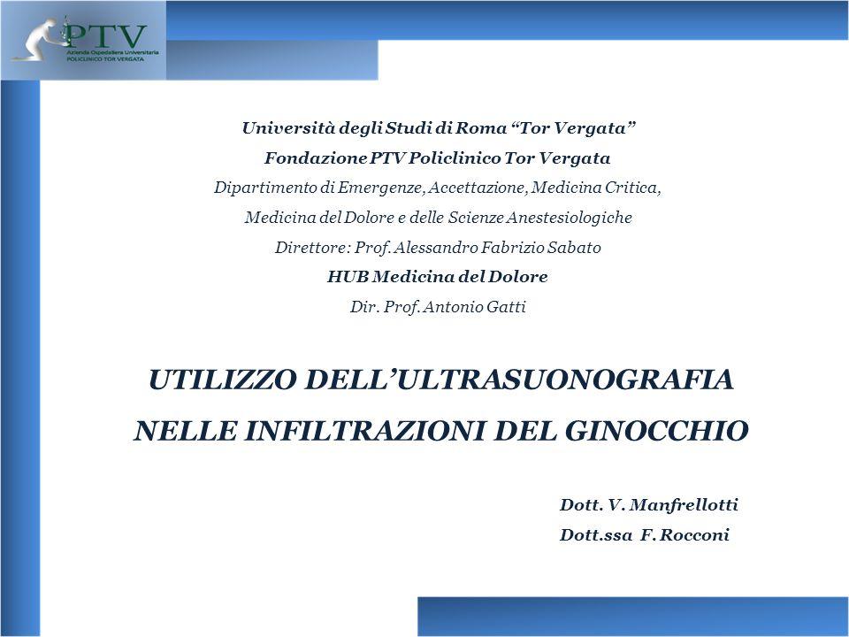 Università degli Studi di Roma Tor Vergata Fondazione PTV Policlinico Tor Vergata Dipartimento di Emergenze, Accettazione, Medicina Critica, Medicina