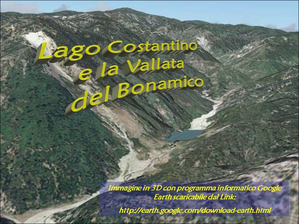 Immagine in 3D con programma informatico Google Earth scaricabile dal Link: http://earth.google.com/download-earth.html